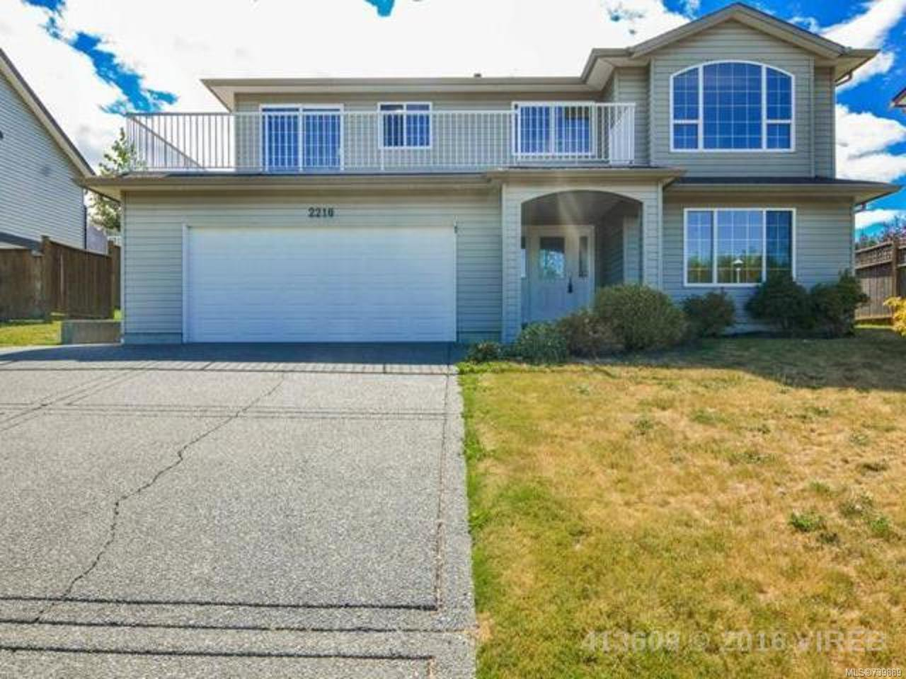 Main Photo: 2210 JOANNE DRIVE in CAMPBELL RIVER: CR Willow Point House for sale (Campbell River)  : MLS®# 739889