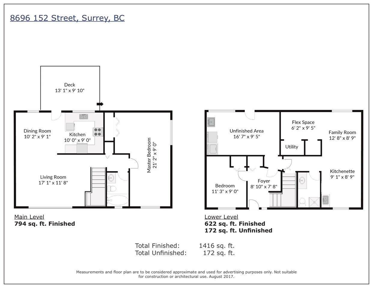Main Photo: 8696 152 Street in Surrey: Fleetwood Tynehead House 1/2 Duplex for sale : MLS®# R2223045