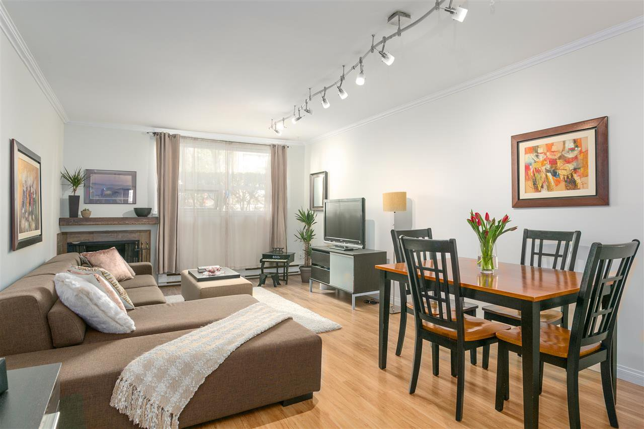 "Main Photo: 201 1232 HARWOOD Street in Vancouver: West End VW Condo for sale in ""Harwood Terrace"" (Vancouver West)  : MLS®# R2246738"