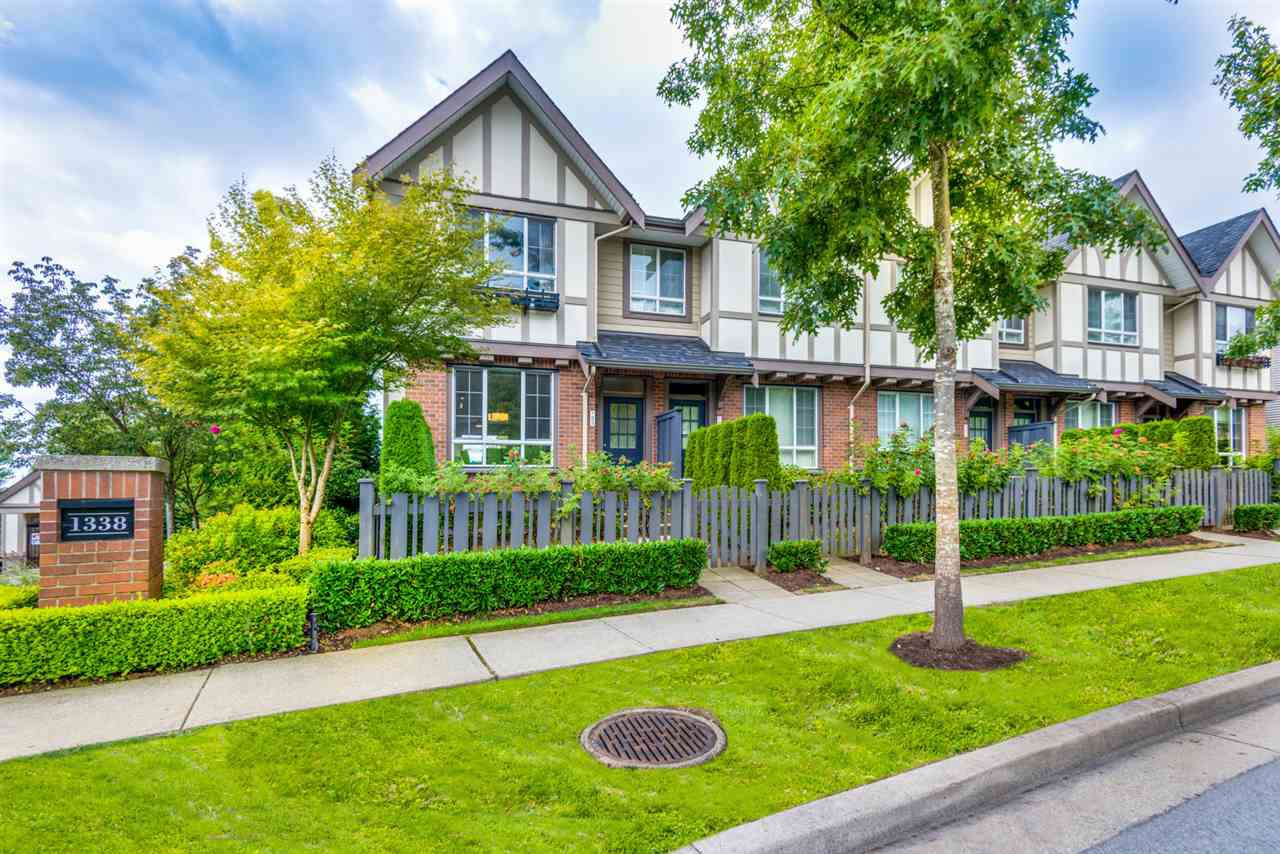 "Main Photo: 85 1338 HAMES Crescent in Coquitlam: Burke Mountain Townhouse for sale in ""FARRINGTON PARK"" : MLS®# R2301743"