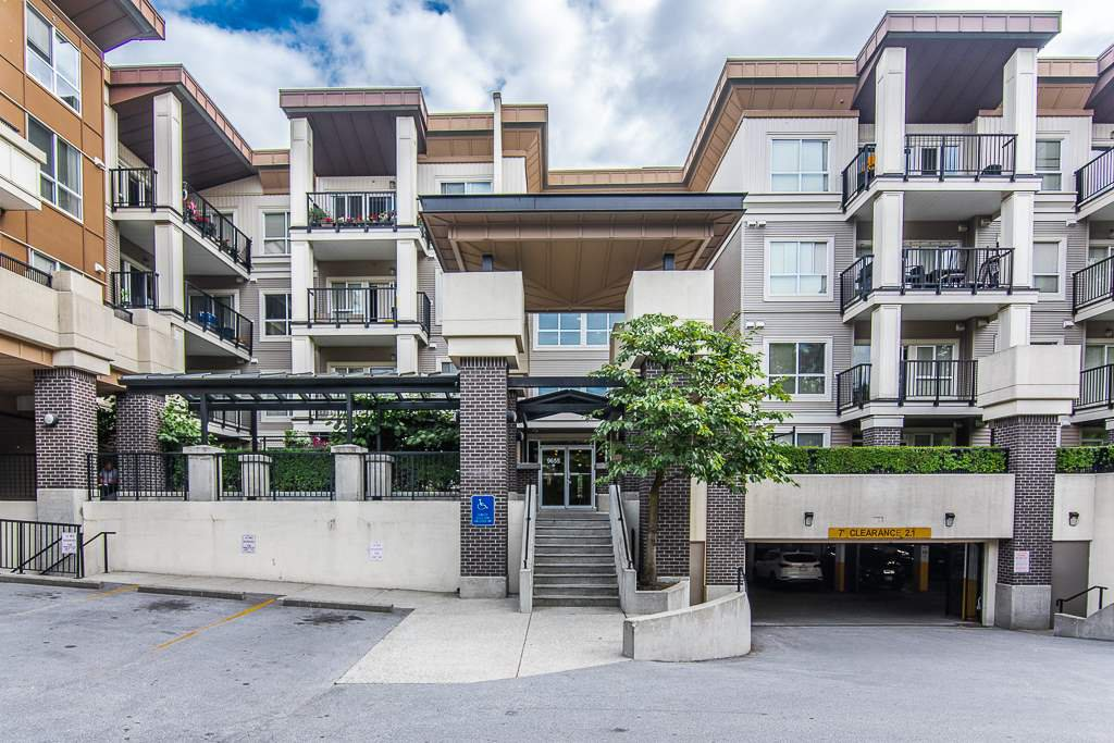 """Main Photo: 115 9655 KING GEORGE Boulevard in Surrey: Whalley Condo for sale in """"The Gruv"""" (North Surrey)  : MLS®# R2381539"""