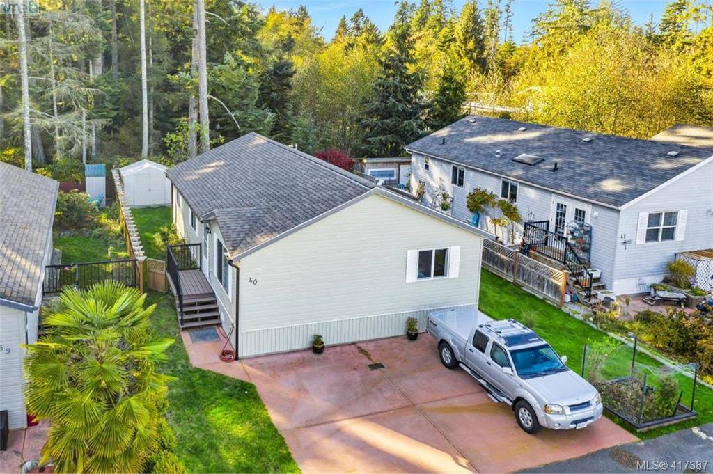 Main Photo: 40 7109 West Coast Road in SOOKE: Sk Whiffin Spit Manu Double-Wide for sale (Sooke)  : MLS®# 417387
