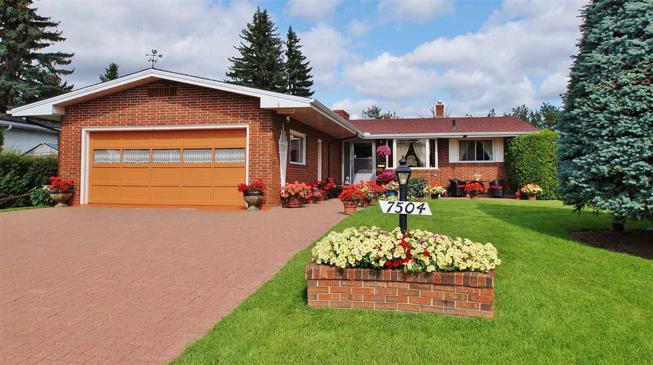 Main Photo: 7504 ROWLAND Road in Edmonton: Zone 19 House for sale : MLS®# E4181278