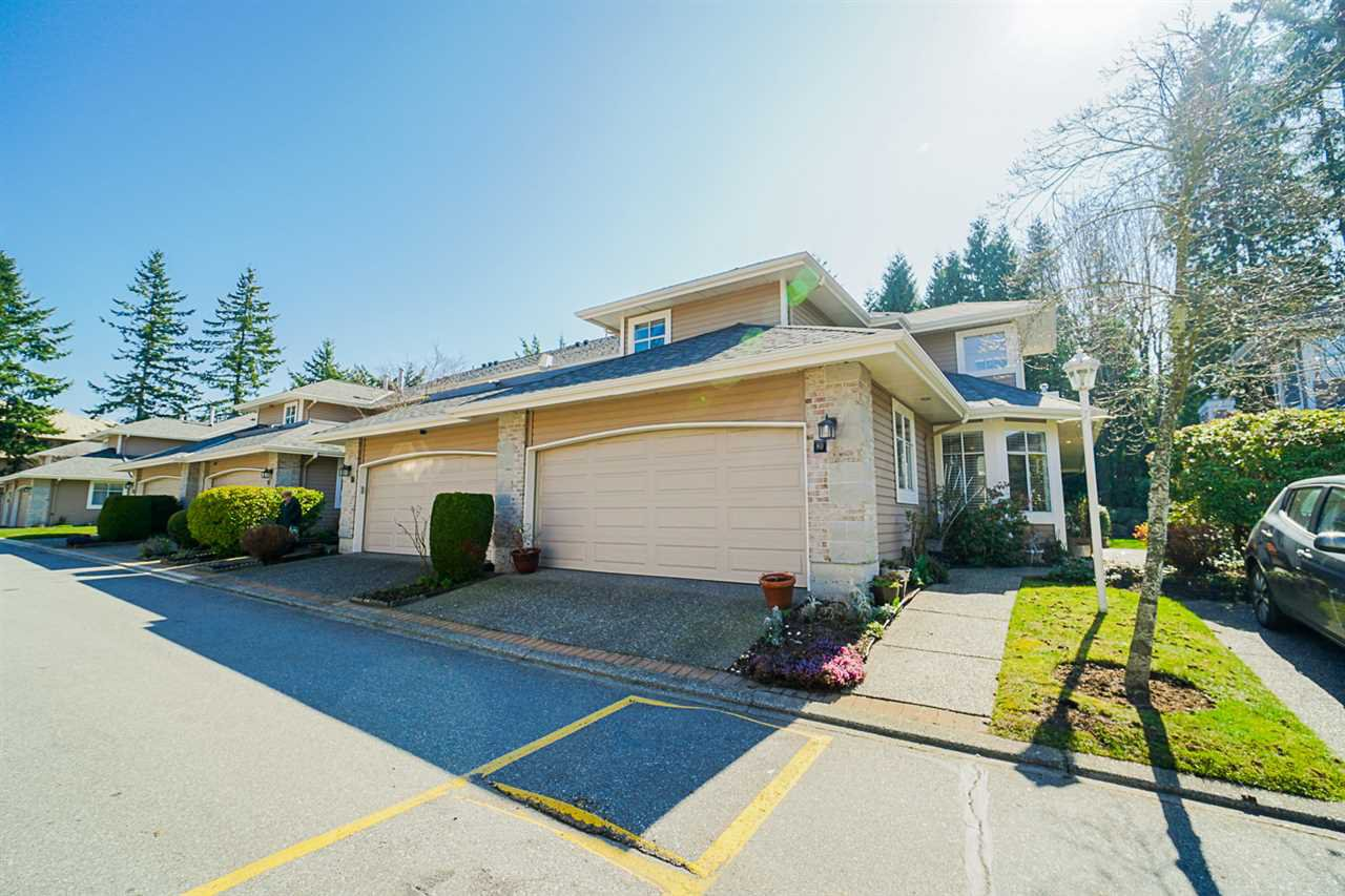 """Main Photo: 80 2500 152 Street in Surrey: King George Corridor Townhouse for sale in """"The Peninsula"""" (South Surrey White Rock)  : MLS®# R2443468"""