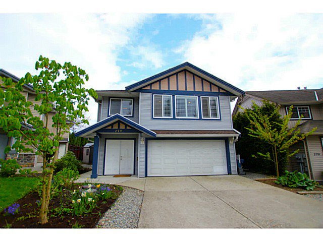 Main Photo: 279 EUCLID Court in Coquitlam: Coquitlam West House for sale : MLS®# V1059350