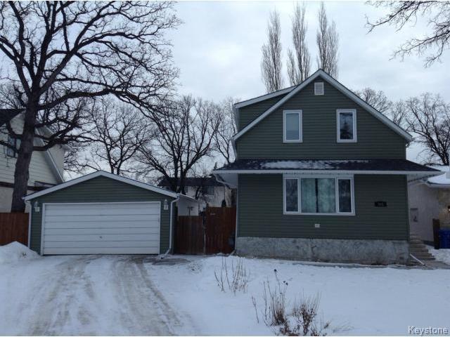 Main Photo: 383 Elmhurst Road in WINNIPEG: Charleswood Residential for sale (South Winnipeg)  : MLS®# 1502120