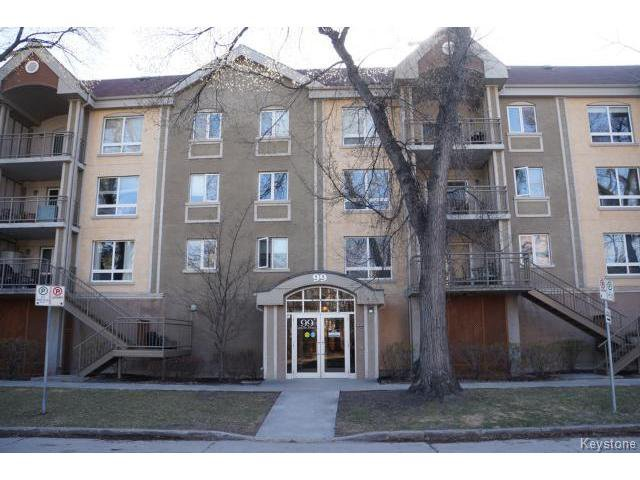Main Photo: 99 Gerard Street in WINNIPEG: Fort Rouge / Crescentwood / Riverview Condominium for sale (South Winnipeg)  : MLS®# 1510741