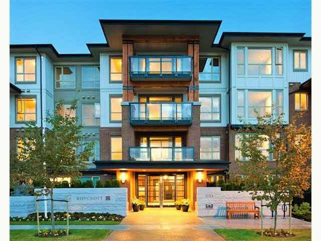 "Main Photo: 212 1153 KENSAL Place in Coquitlam: New Horizons Condo for sale in ""ROYCROFT"" : MLS®# V1138462"