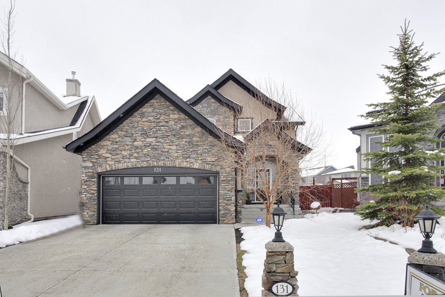 Main Photo: 131 Cougar Plateau Circle SW in Calgary: 2 Storey for sale : MLS®# C3614218
