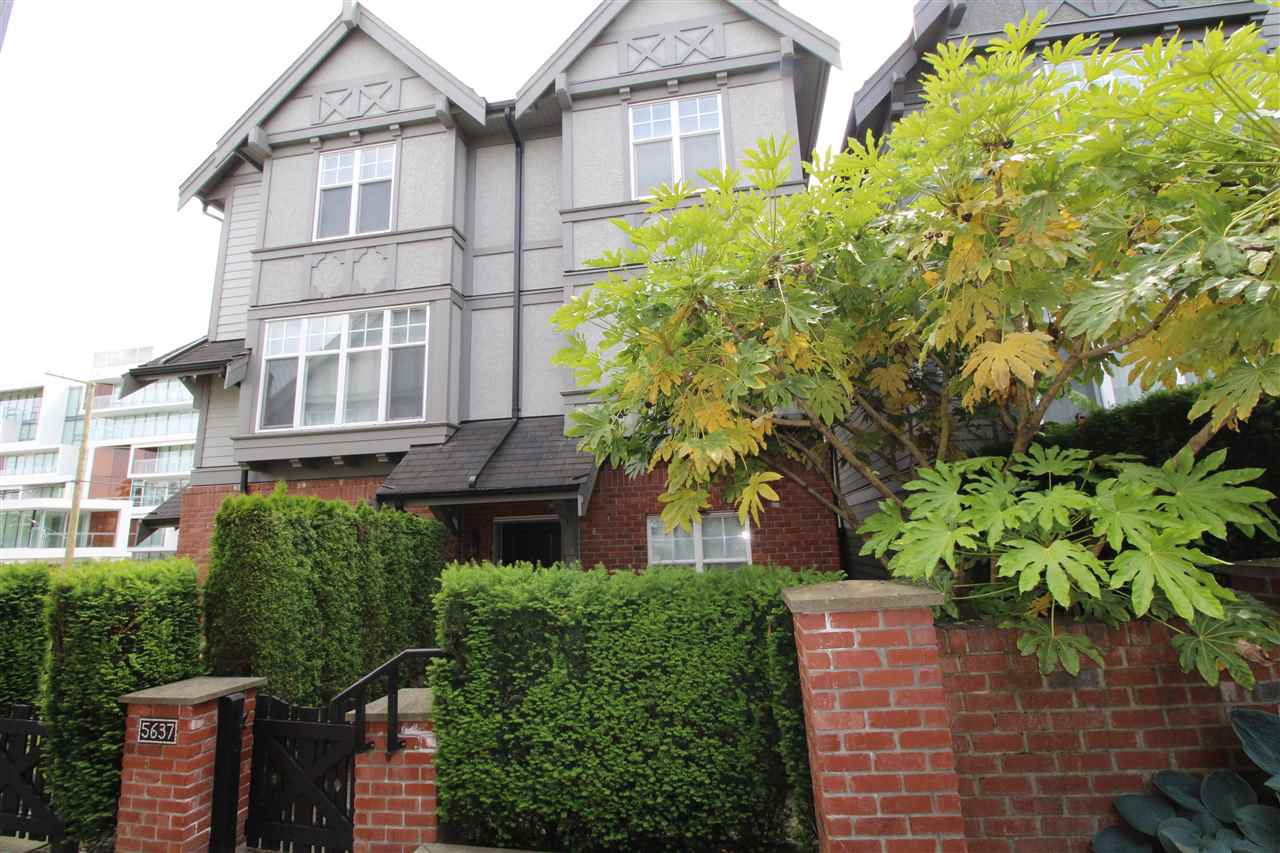 Main Photo: 5637 WILLOW STREET in Vancouver: Cambie Townhouse for sale (Vancouver West)  : MLS®# R2174798