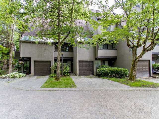 Main Photo: 8533 WOODTRAIL Place in Burnaby: Forest Hills BN Townhouse for sale (Burnaby North)  : MLS®# R2181935