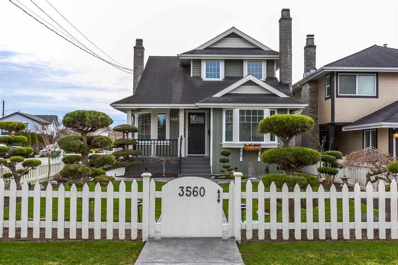 "Main Photo: 3560 HUNT Street in Richmond: Steveston Village House for sale in ""STEVESTON VILLAGE"" : MLS®# R2240132"