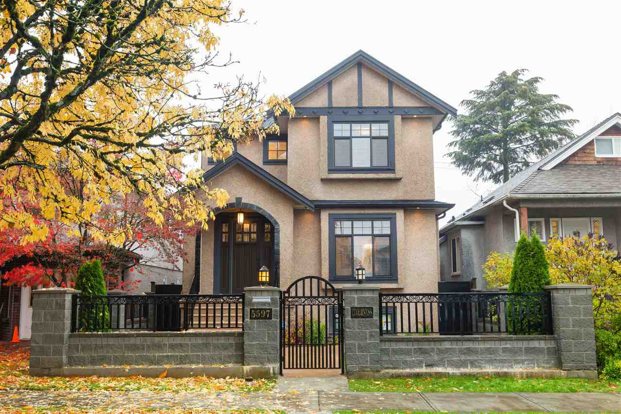 Photo 1: Photos: 5597 INVERNESS Street in Vancouver: Knight House for sale (Vancouver East)  : MLS®# R2345297