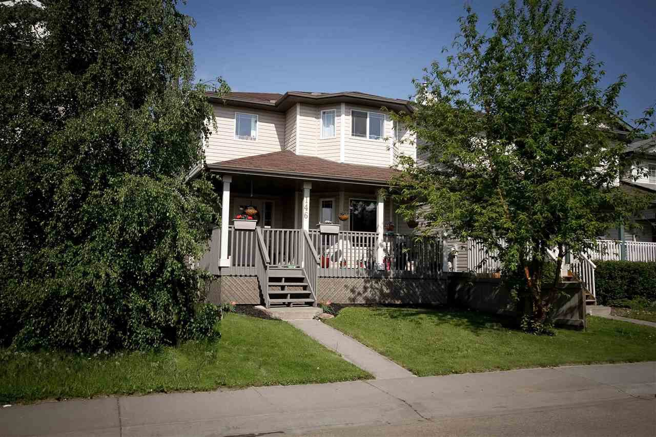 Main Photo: 146 BROOKVIEW Way: Stony Plain House for sale : MLS®# E4155295