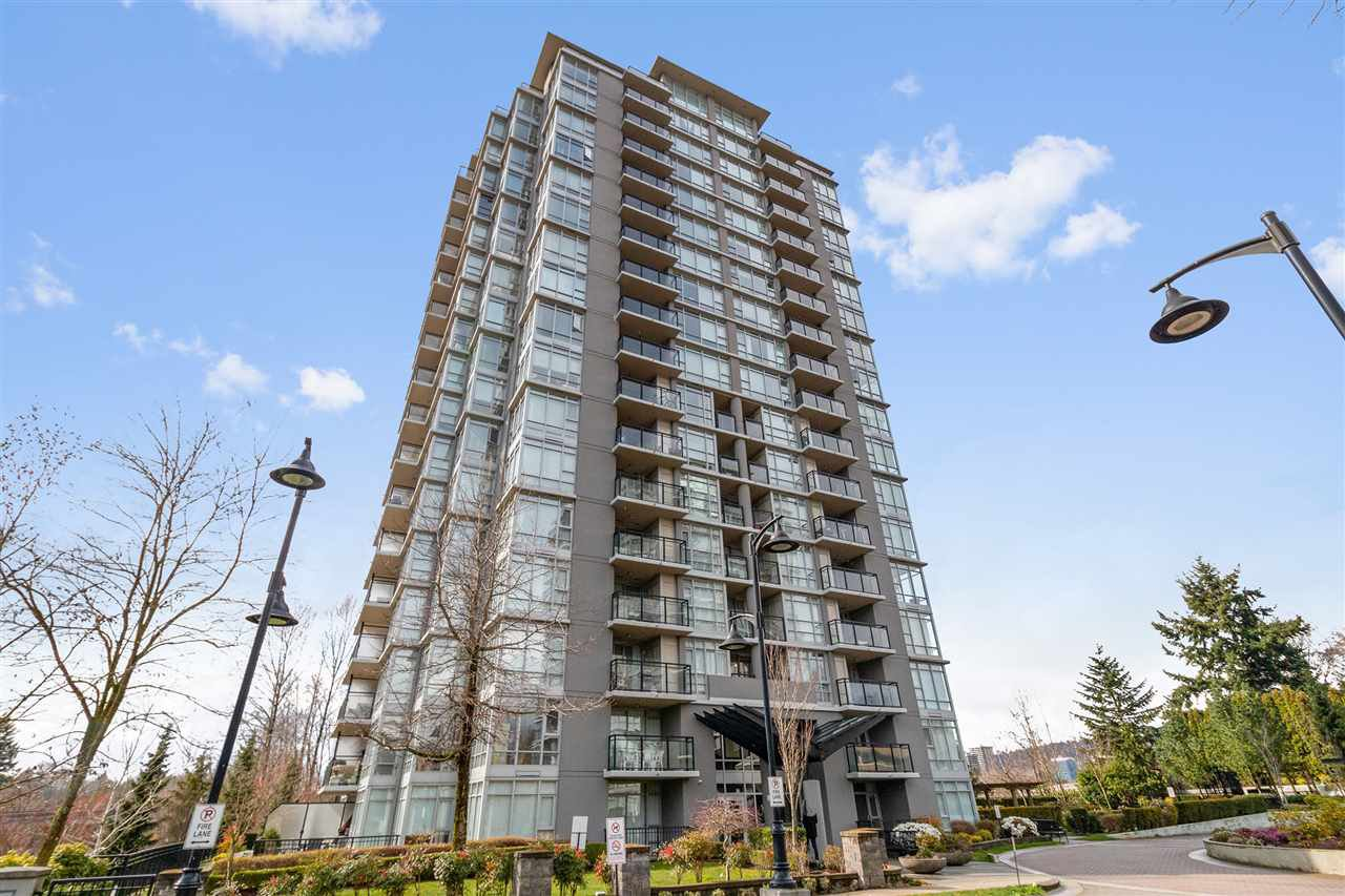 "Main Photo: 308 555 DELESTRE Avenue in Coquitlam: Coquitlam West Condo for sale in ""CORA TOWERS"" : MLS®# R2447654"