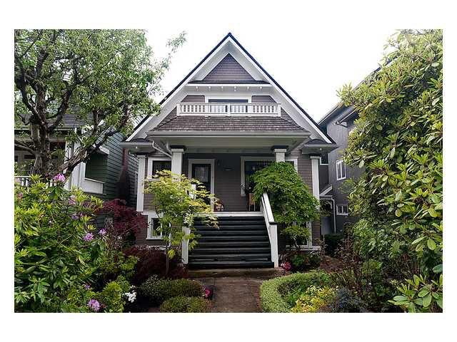 Main Photo: 3668 W 2ND Avenue in Vancouver: Kitsilano House for sale (Vancouver West)  : MLS®# V894204