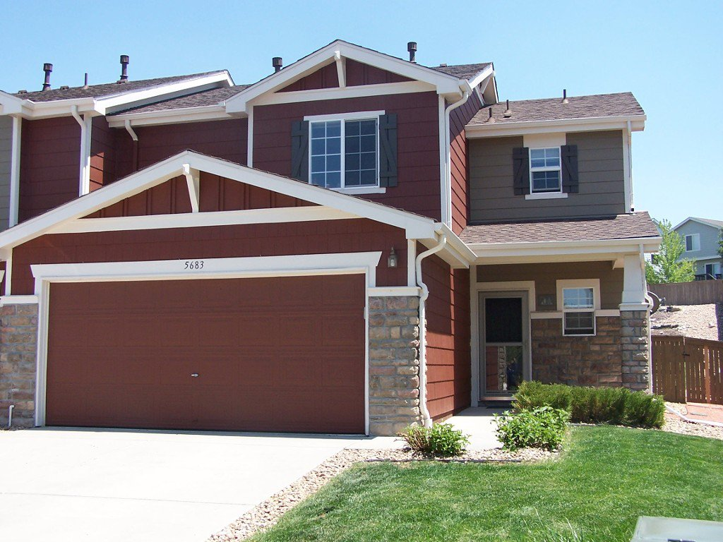 Main Photo: 5683 Raleigh Circle in Castle Rock: Townhouse for sale (Castlewood Ranch)  : MLS®# 1202039