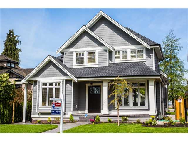 Main Photo: 221 THIRD Avenue in New Westminster: Queens Park House for sale : MLS®# V1061317