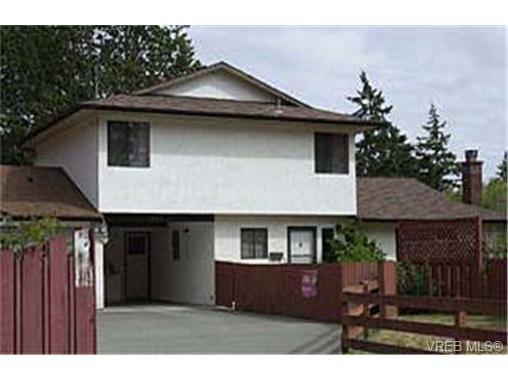 Main Photo: B 827 Hockley Ave in VICTORIA: La Langford Proper Half Duplex for sale (Langford)  : MLS®# 266366