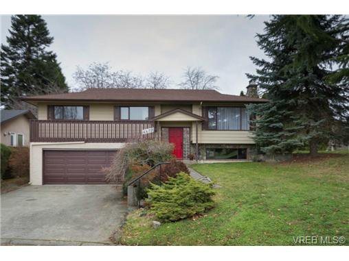 Main Photo: 4472 Tremblay Dr in VICTORIA: SE Gordon Head House for sale (Saanich East)  : MLS®# 688278