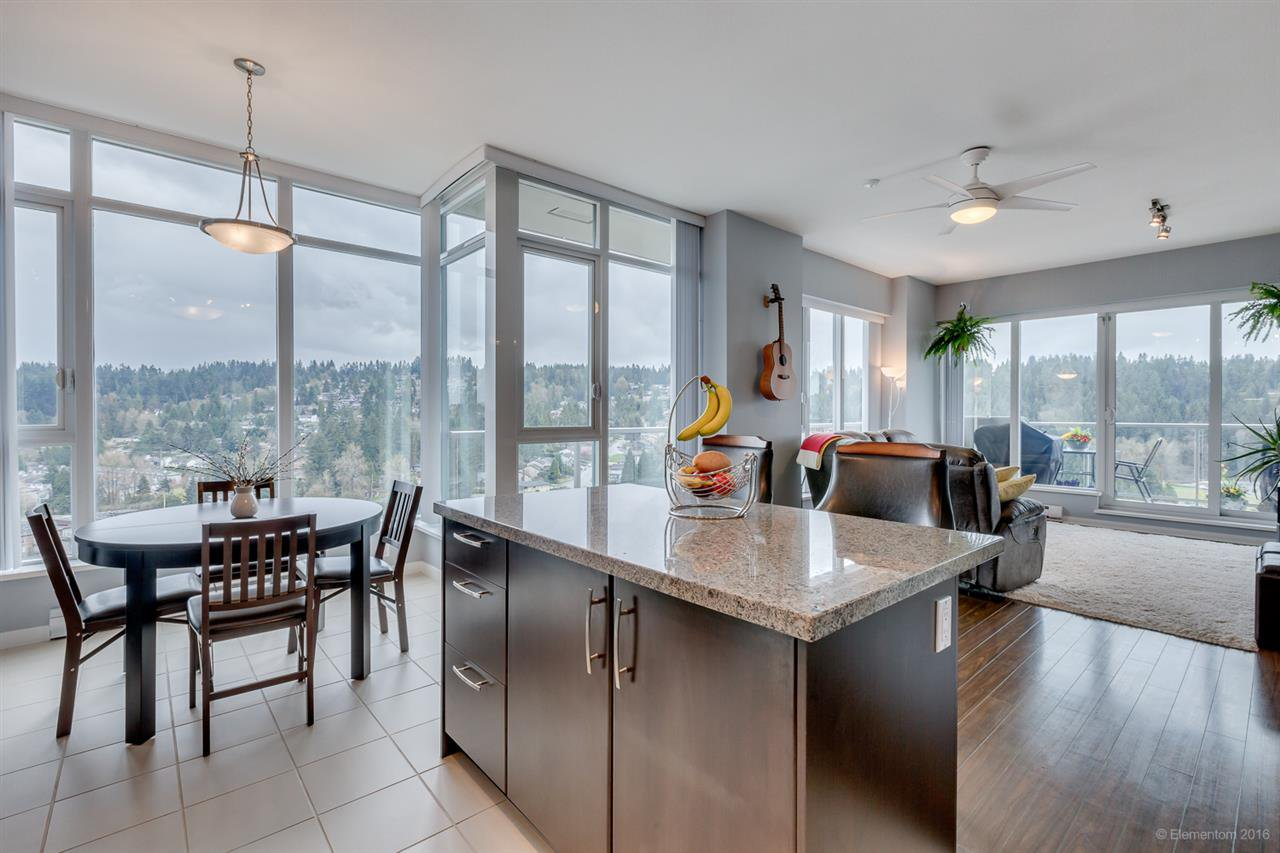 """Main Photo: 2801 651 NOOTKA Way in Port Moody: Port Moody Centre Condo for sale in """"SAHALEE"""" : MLS®# R2155594"""