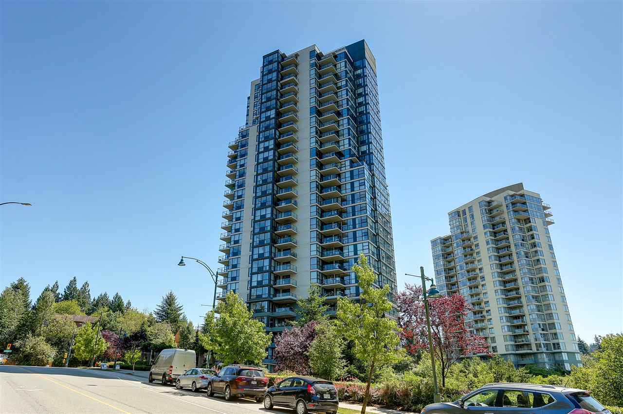 Main Photo: 403 288 UNGLESS Way in Port Moody: North Shore Pt Moody Condo for sale : MLS®# R2196452