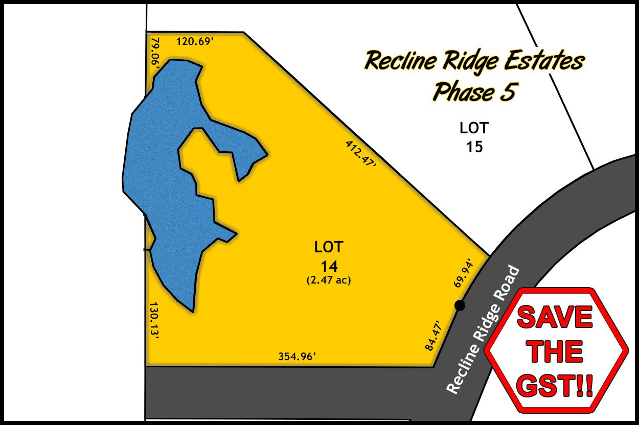 Photo 1: Photos: Lot 14 Recline Ridge Road in Tappen: Land Only for sale : MLS®# 10200569
