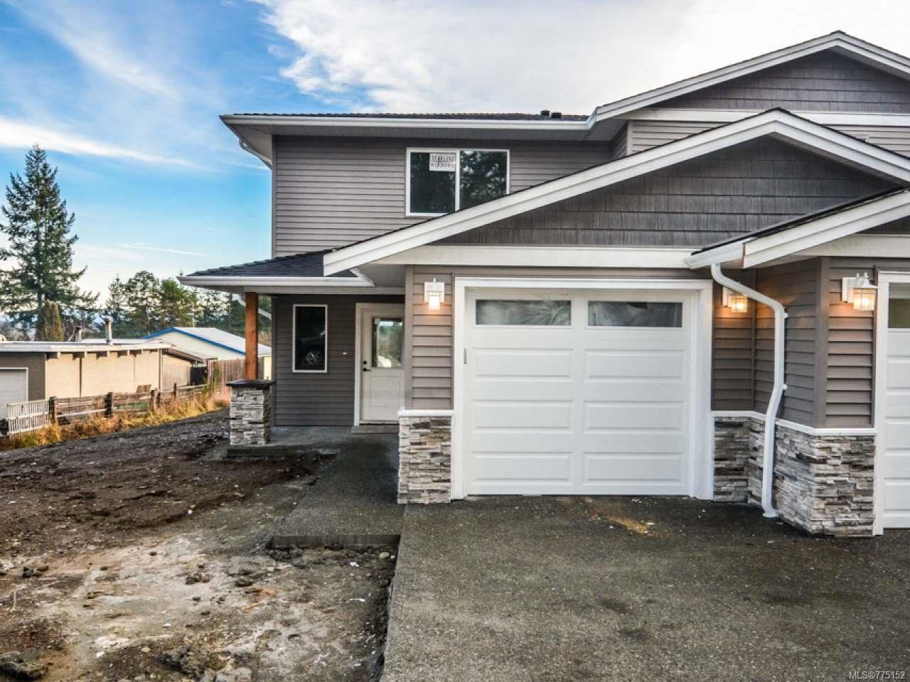 Main Photo: 1 595 Petersen Rd in CAMPBELL RIVER: CR Campbell River West Half Duplex for sale (Campbell River)  : MLS®# 775152