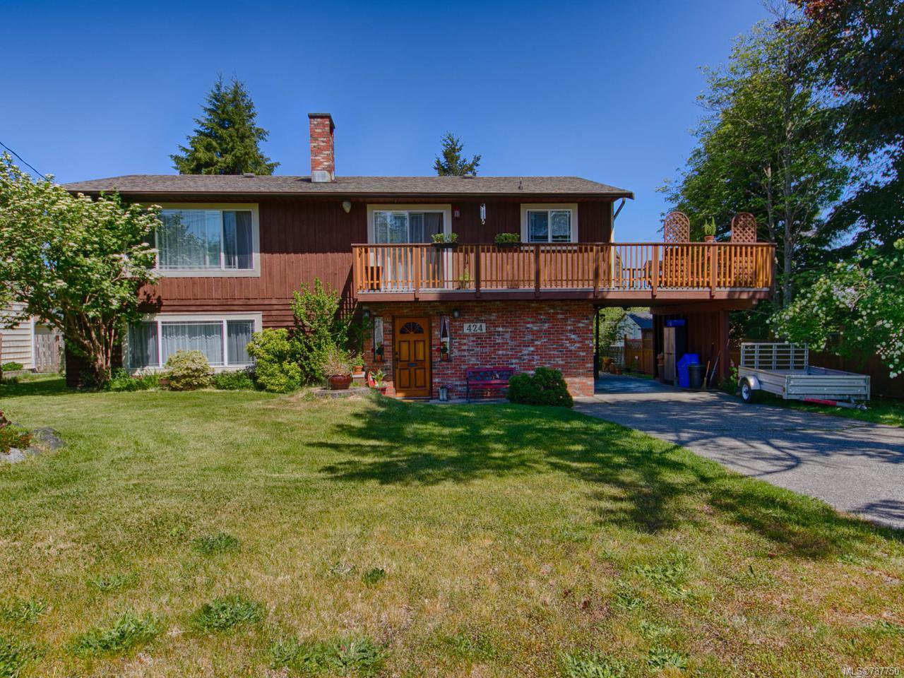 Main Photo: 424 Jesmar Pl in CAMPBELL RIVER: CR Campbell River Central House for sale (Campbell River)  : MLS®# 787750