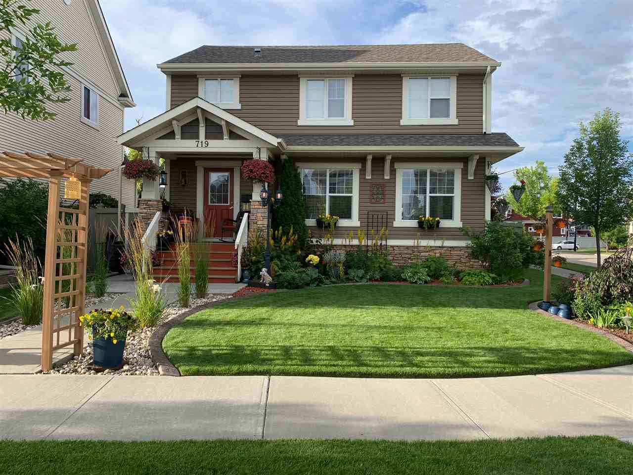 Main Photo: 719 DECOTEAU Way in Edmonton: Zone 27 House for sale : MLS®# E4209595