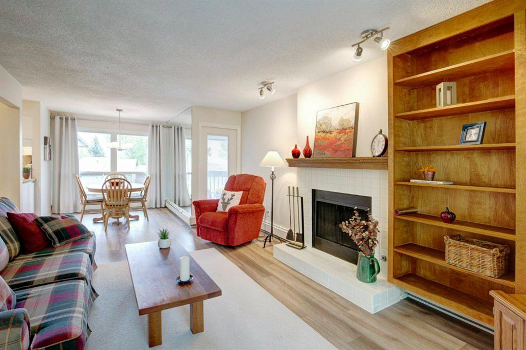 You'll find bright spacious rooms throughout this updated  2 bedroom condo
