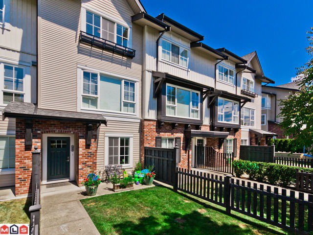"Main Photo: 22 2450  161A ST in Surrey: Grandview Surrey Townhouse for sale in ""GLENMORE"" (South Surrey White Rock)  : MLS®# F1220320"