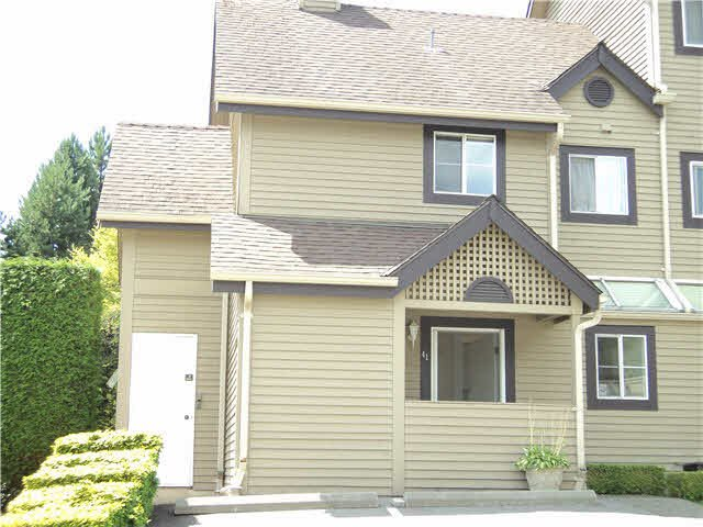 "Main Photo: 41 2736 ATLIN Place in Coquitlam: Coquitlam East Townhouse for sale in ""CEDAR GREEN"" : MLS®# V1137314"