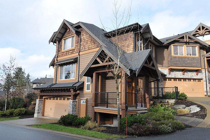 "Main Photo: 21 24185 106B Avenue in Maple Ridge: Albion Townhouse for sale in ""TRAILS EDGE"" : MLS®# R2027108"