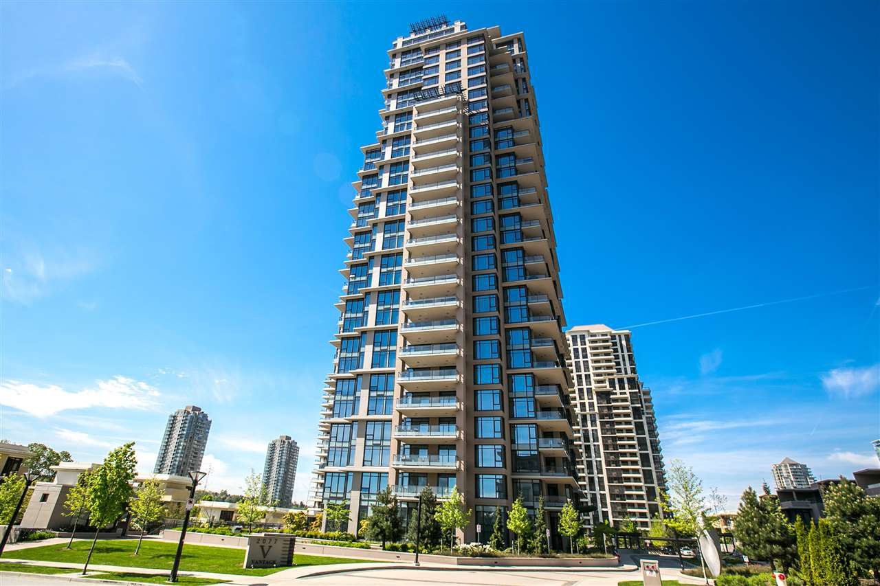 "Main Photo: 2301 2077 ROSSER Avenue in Burnaby: Brentwood Park Condo for sale in ""VANTAGE"" (Burnaby North)  : MLS®# R2058471"