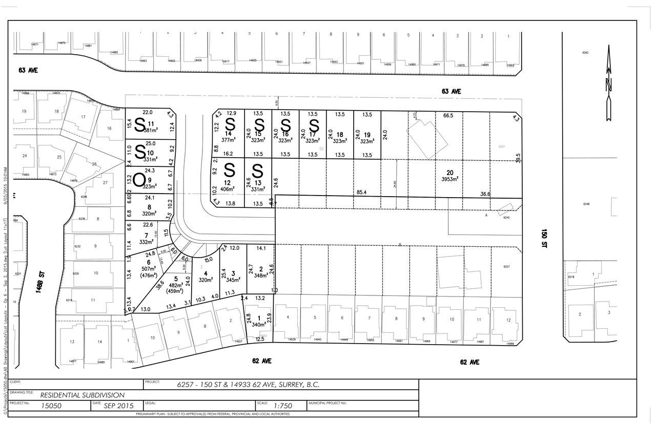 Main Photo: LT.14 14933 62 Avenue in Surrey: Sullivan Station Land for sale : MLS®# R2137921