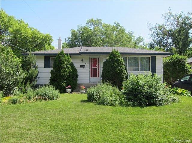 Main Photo: 67 Minikada Bay in Winnipeg: Residential for sale (3M)  : MLS®# 1717733