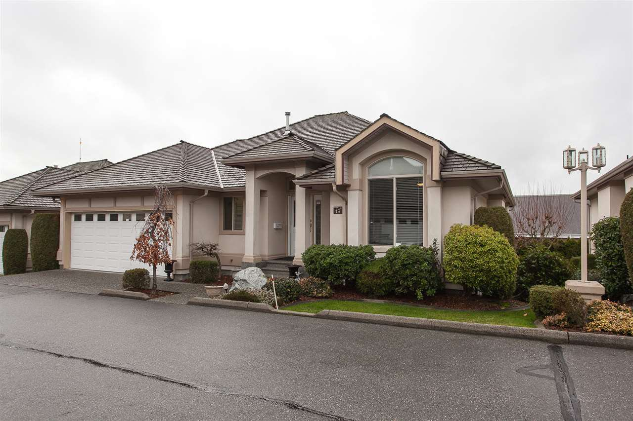 "Main Photo: 13 30703 BLUERIDGE Drive in Abbotsford: Abbotsford West House for sale in ""Westsyde Estates"" : MLS®# R2237540"