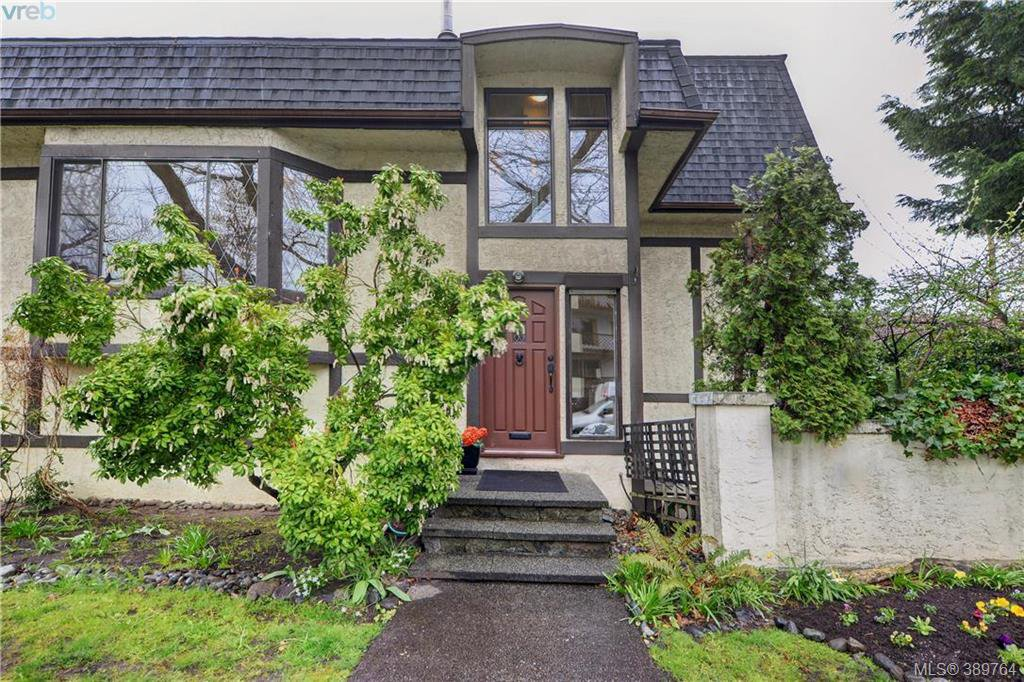 Main Photo: 1 1464 Fort St in VICTORIA: Vi Fernwood Row/Townhouse for sale (Victoria)  : MLS®# 783253