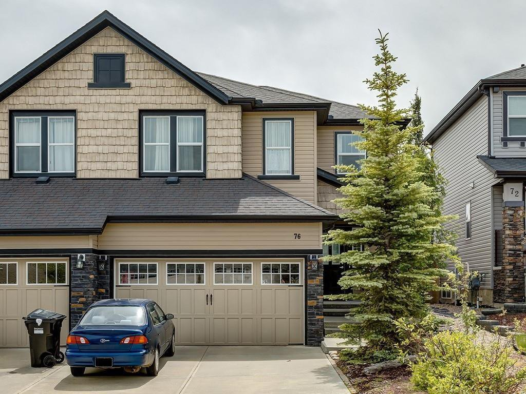 Main Photo: 76 SAGE HILL Point NW in Calgary: Sage Hill Semi Detached for sale : MLS®# C4305978