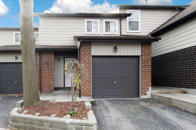Main Photo: Great for 1st Time Buyers Trendy Condo Town situated near Lakeside Trail in South Ajax