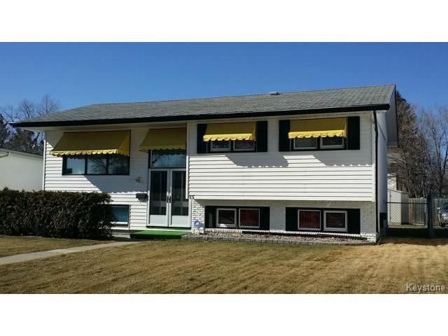 Main Photo: 15 Makinak Bay in WINNIPEG: Westwood / Crestview Residential for sale (West Winnipeg)  : MLS®# 1505725