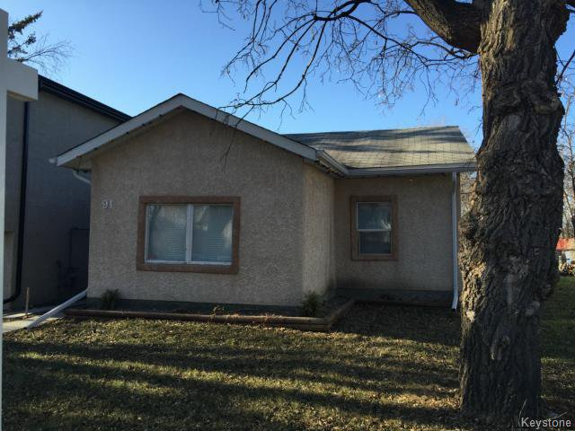 Main Photo: 91 Clonard Avenue in WINNIPEG: St Vital Residential for sale (South East Winnipeg)  : MLS®# 1506211