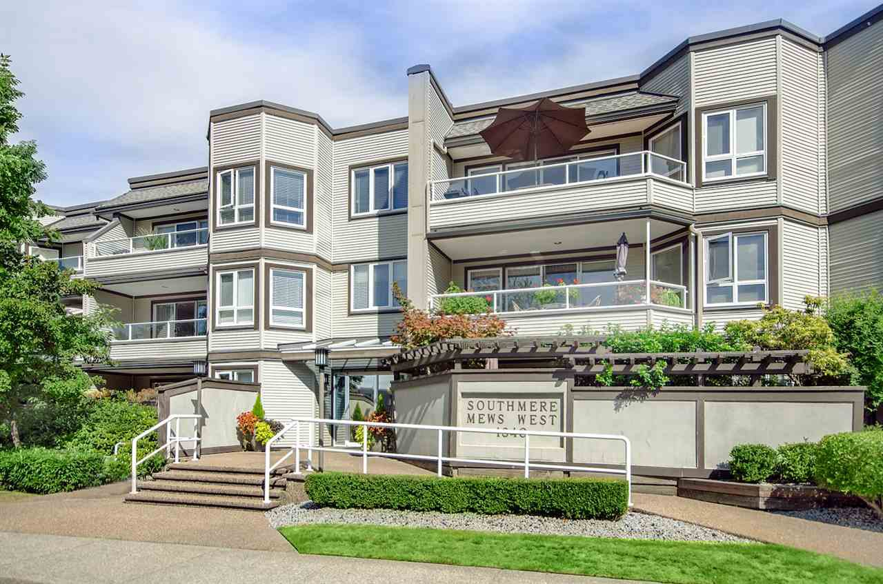 "Main Photo: 108 1840 E SOUTHMERE Crescent in Surrey: Sunnyside Park Surrey Condo for sale in ""Southmere Mews"" (South Surrey White Rock)  : MLS®# F1451294"
