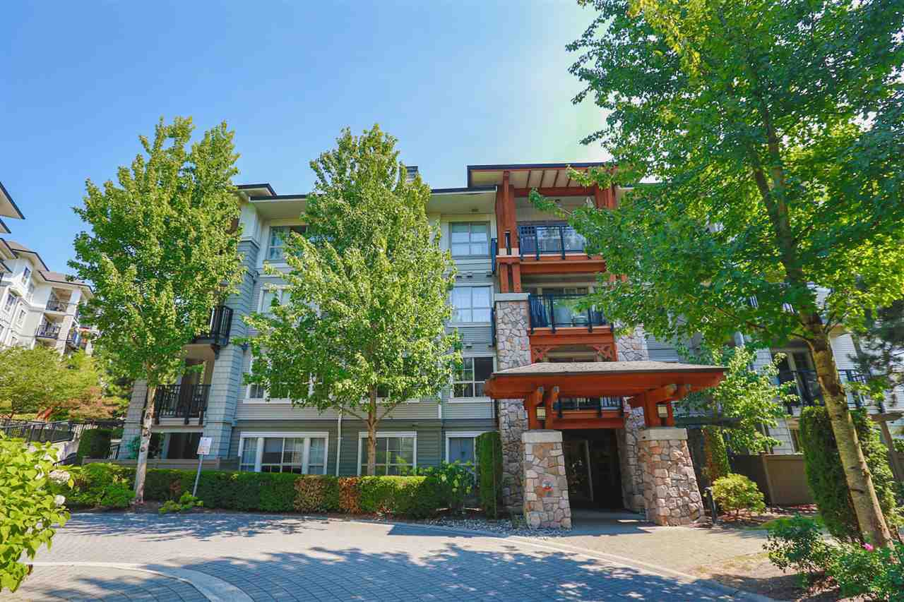 "Main Photo: 407 2966 SILVER SPRINGS Boulevard in Coquitlam: Westwood Plateau Condo for sale in ""SILVER SPRINGS"" : MLS®# R2074335"