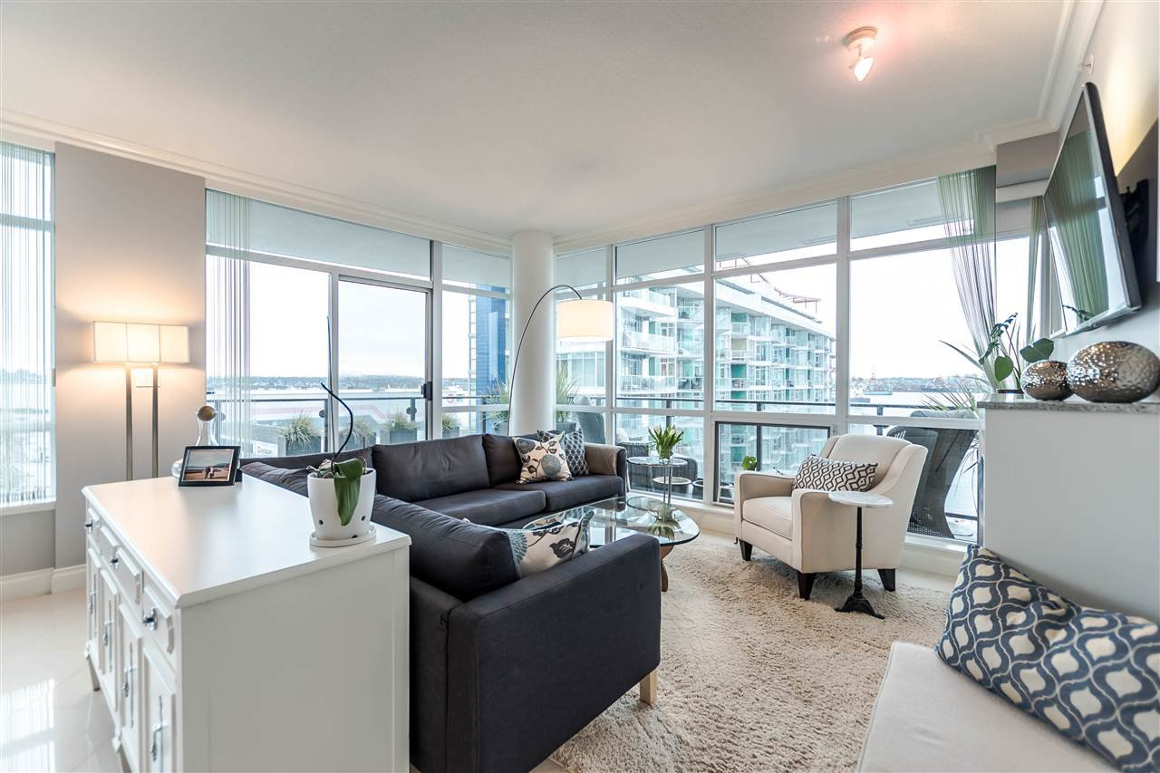 """Photo 11: Photos: 1004 172 VICTORY SHIP Way in North Vancouver: Lower Lonsdale Condo for sale in """"Atrium at the Pier"""" : MLS®# R2147061"""