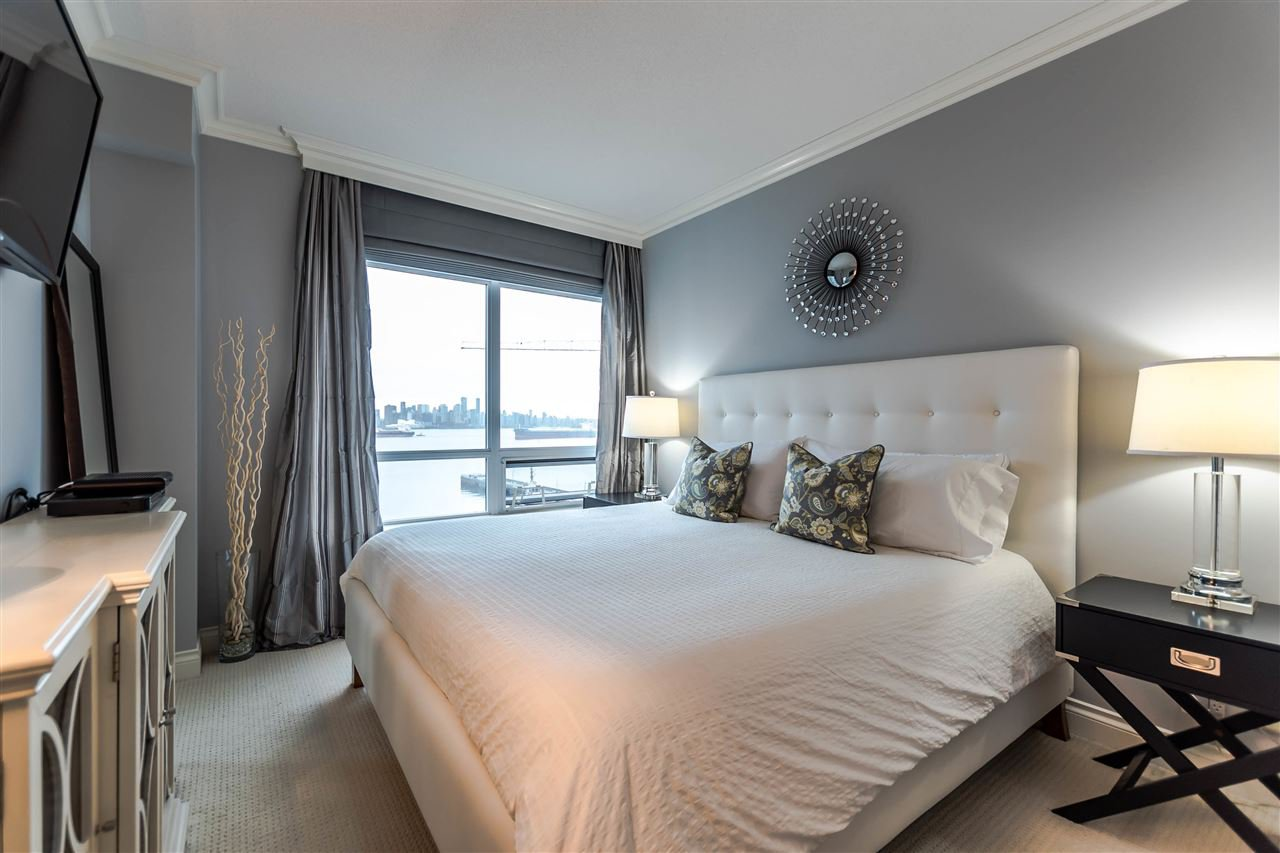 """Photo 13: Photos: 1004 172 VICTORY SHIP Way in North Vancouver: Lower Lonsdale Condo for sale in """"Atrium at the Pier"""" : MLS®# R2147061"""