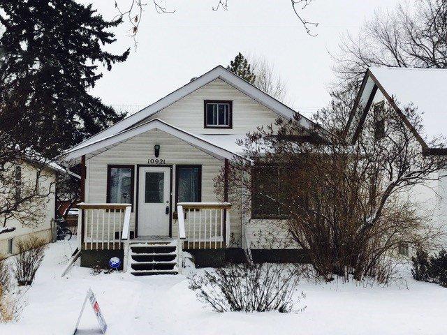 Main Photo: 10921 80 Avenue NW in Edmonton: Garneau House for sale : MLS®# E4054250