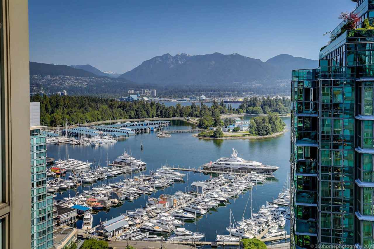 Main Photo: 2706 1328 W PENDER Street in Vancouver: Coal Harbour Condo for sale (Vancouver West)  : MLS®# R2299198