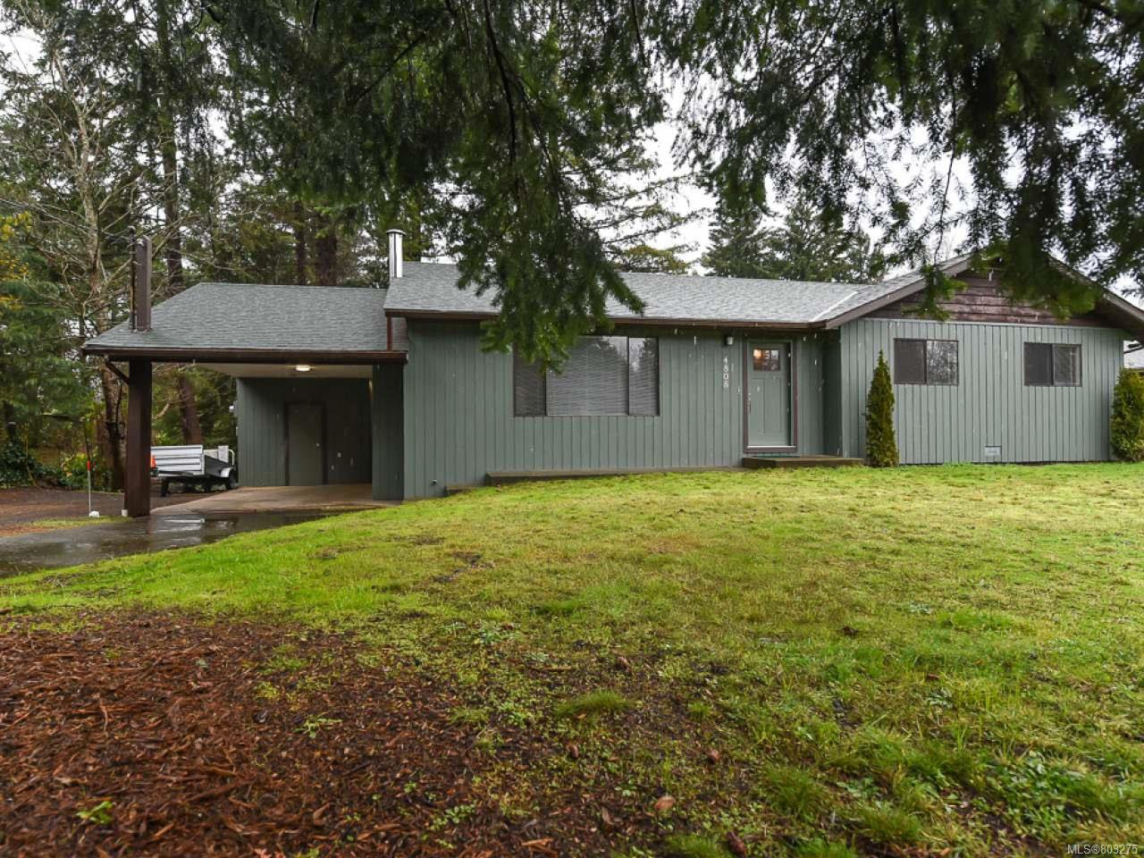 Main Photo: 4808 Alton Pl in COURTENAY: CV Courtenay East House for sale (Comox Valley)  : MLS®# 803275